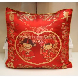 Chinese Cartoon Cushion Cover (2pc)