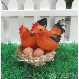 Chicken Family Miniature