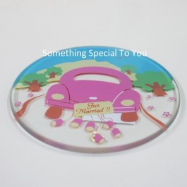JUST MARRIED COASTER - as low as RM2.50/pc