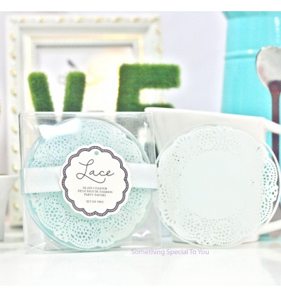 EXQUISITE LACE COASTER - as low as RM2.80/pair