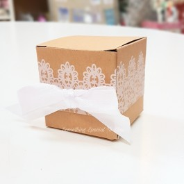Printed Lacey Candy Box- as low as RM0.60/pc